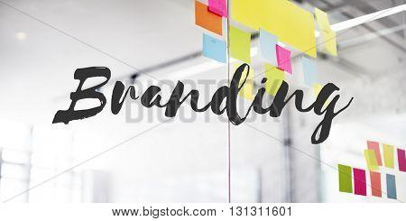 Branding Marketing Trademark Label Concept