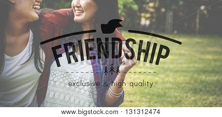 Friends Friendship Relation Companionship Friendliness Concept