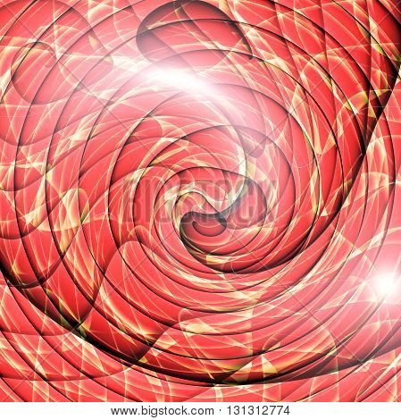 Abstract  coloring wood gradients background with visual lens flare and twirl effects