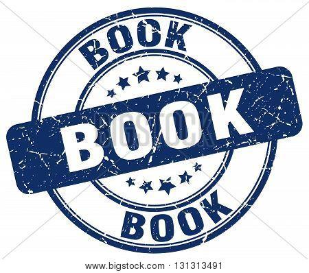 book blue grunge round vintage rubber stamp.book stamp.book round stamp.book grunge stamp.book.book vintage stamp.
