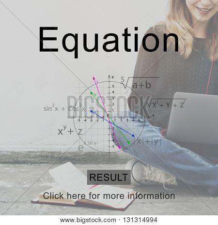 Equation Formulas Number Mathematics Concept