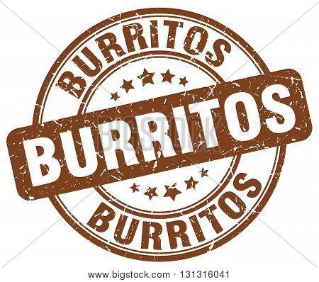 burritos brown grunge round vintage rubber stamp.burritos stamp.burritos round stamp.burritos grunge stamp.burritos.burritos vintage stamp.