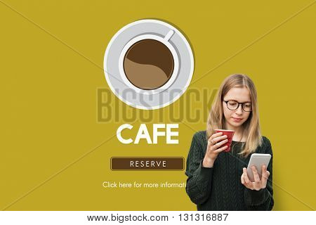 Cafe Coffee Coffee Shop Drink Concept