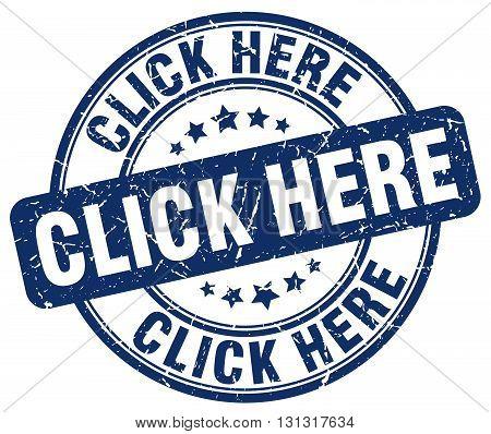 click here blue grunge round vintage rubber stamp.click here stamp.click here round stamp.click here grunge stamp.click here.click here vintage stamp.