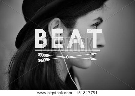 Play Music Audio Media Enjoy Concept