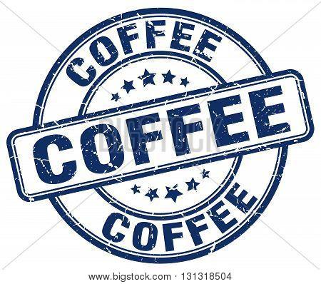 coffee blue grunge round vintage rubber stamp.coffee stamp.coffee round stamp.coffee grunge stamp.coffee.coffee vintage stamp.