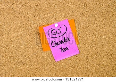 Business Acronym Qy Quarter Year