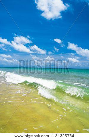White Sand Heavenly Blue