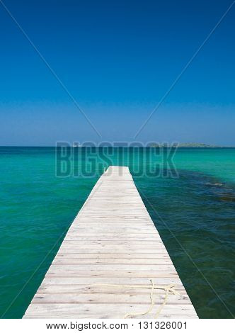 Contemplating the Sea Jetty to Eternity