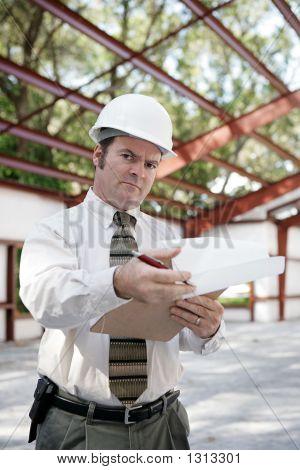 Inspector de construcción - escepticismo