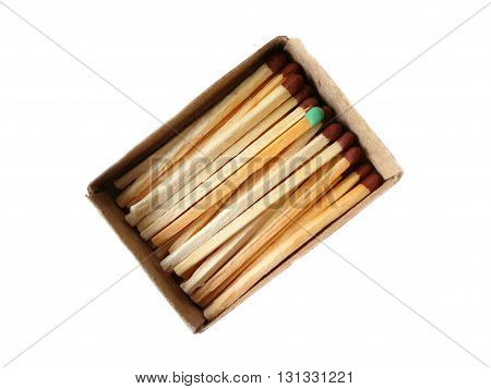 Matches in a box fire material wooden ignition sulfur flame