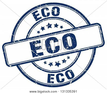 eco blue grunge round vintage rubber stamp.eco stamp.eco round stamp.eco grunge stamp.eco.eco vintage stamp.