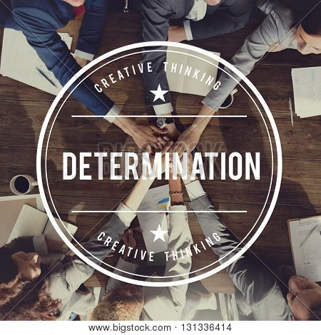 Determination Determine Decision Judgment Resolution Concept