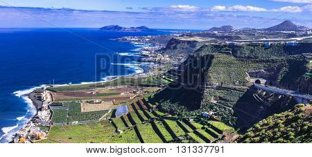 Gran Canaria island - panoramic view