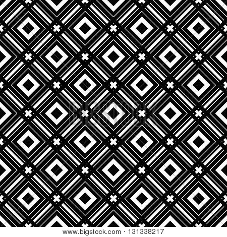 Seamless wallpaper pattern. Modern stylish texture. Geometric background