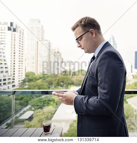 Business Connecting Communication Corporate Concept