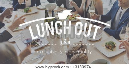 Lunch Out Food Meal Catering Cuisine Culinary Gourmet Concept