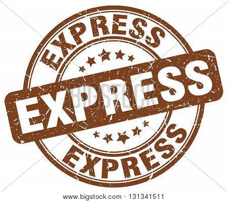 express brown grunge round vintage rubber stamp.express stamp.express round stamp.express grunge stamp.express.express vintage stamp.