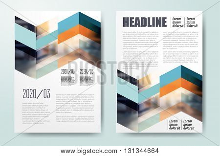 Brochure template design, book cover layout design, Abstract presentation templates Color application template design for corporate identity Business stationery Annual report