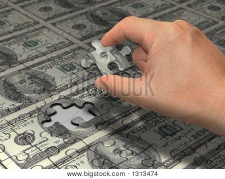 Dólar de Puzzle