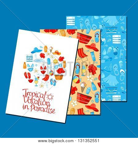 Templates with holiday symbols. Blue, red, yellow color. For your design, announcements, greeting cards, posters, advertisement.