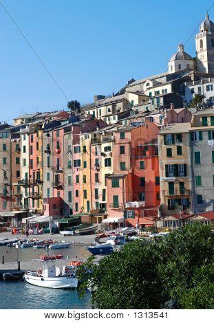 Colorful Italian Seaside Town