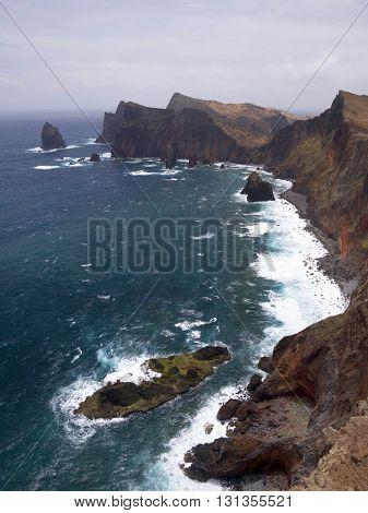 Punta de Sao Lourenco, Madeira Island, Portugal
