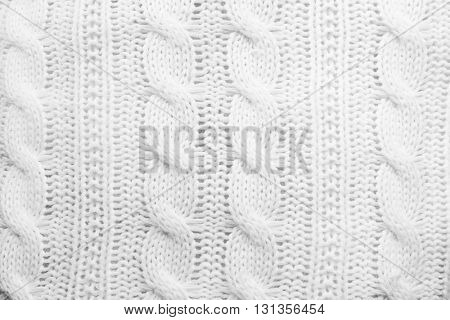 Knitted texture, abstract background