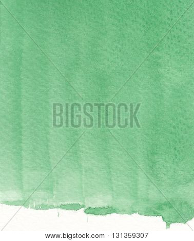 green vertical brushstroke abstract watercolor texture background