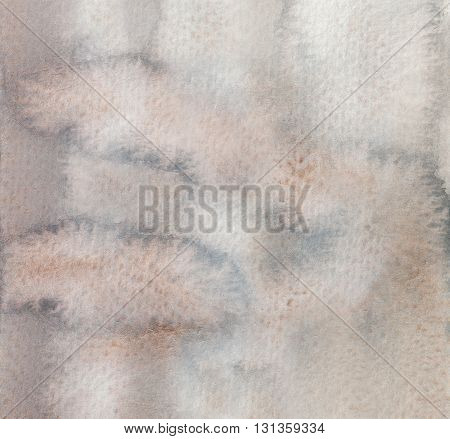 abstract wet grey brown grunge wet watercolor background