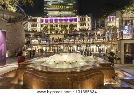 People Visit Tsim Sha Tsui, An  1881 Heritage, Hotel And Shopping Complex