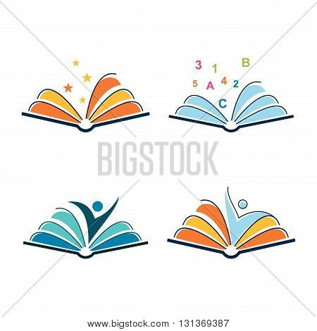 Logo of Open Book Learning Spirit Template