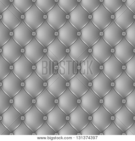 Vector abstract upholstery gray background. Can be used in cover design book design website background CD cover advertising.