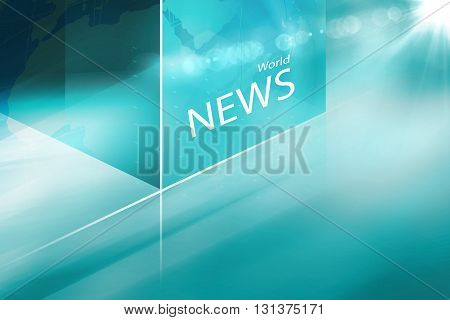 Graphical Abstract Cubica Technology Background Global Connectivity of Digital World News Background