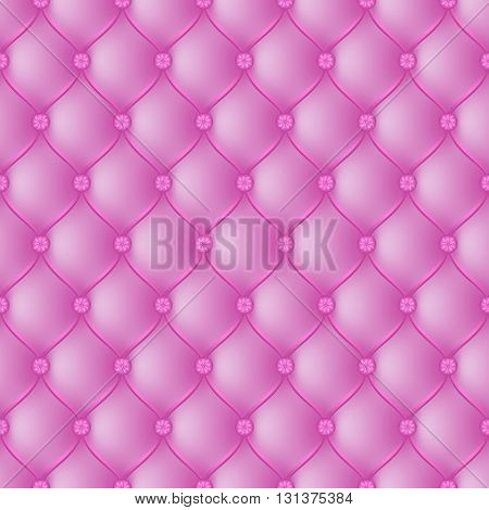 Vector abstract upholstery pink background. Can be used in cover design book design website background CD cover advertising.