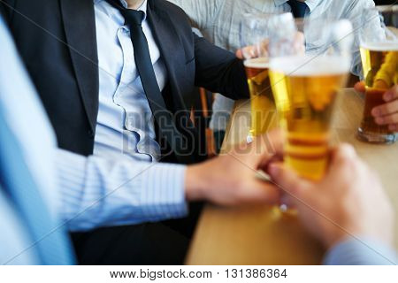 Break after meeting