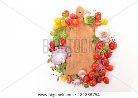 raw vegetable,cooking and recipe concept