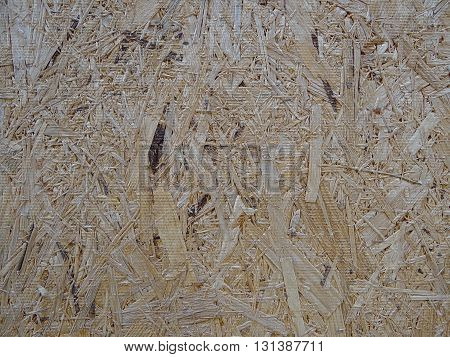 wood texture of wood sawdust and chips, close-up