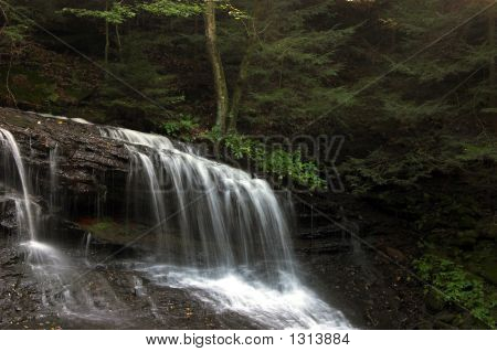 Secluded Falls