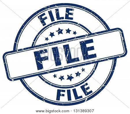 file blue grunge round vintage rubber stamp.file stamp.file round stamp.file grunge stamp.file.file vintage stamp.