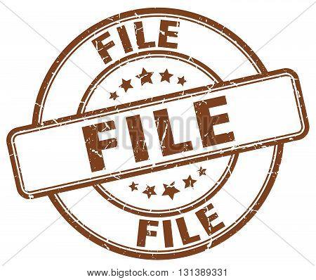 file brown grunge round vintage rubber stamp.file stamp.file round stamp.file grunge stamp.file.file vintage stamp.