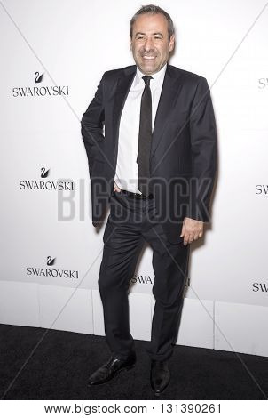 New York City USA - May 24 2016: Senior Vice-President of Swarovski North America Jean- Jacques Sebbag attends Swarovski #bebrilliant event at The Weather Room - Rockefeller Center