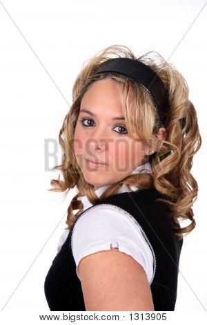 Pretty Blonde Teen (Js)