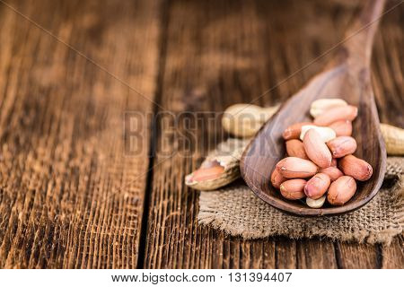 Portion Of Peanuts