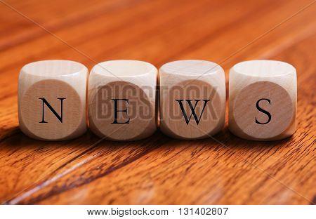 News Word Concept