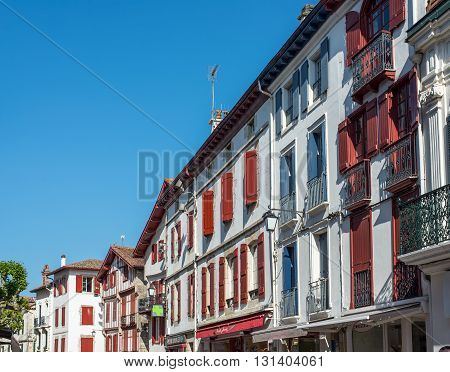Buildings Of Basque Country.