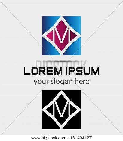 Letter L logo. Alphabet logotype vector design