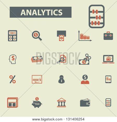 analytics icons