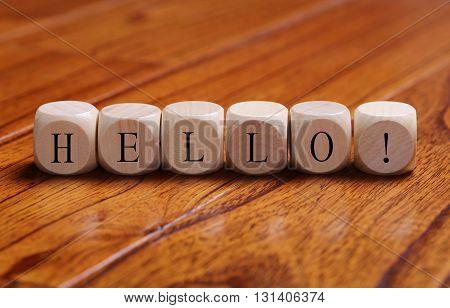 Hello Word Concept