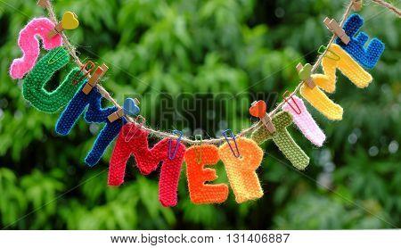 Summer Letter, Summertime Background